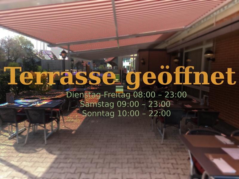 Restaurant Tannegg Terrasse offen